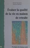 Chapeleau et  Vercauteren - Evaluer la qualité de la vie en maison de retraite.