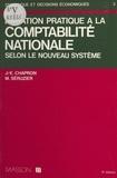 Chapron - Initiation pratique à la comptabilité nationale.