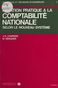 Chapron - Initiation pratique à la comptabilité nationale.