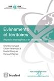 Charlène Arnaud et Olivier Keramidas - Evènements et territoires - Aspects managériaux et études de cas.