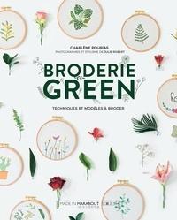 Charlène Pourias - Broderie green.