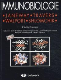 Charles-A Janeway et Paul Travers - Immunobiologie - Le système immunitaire fondamental et pathologique. 1 Cédérom