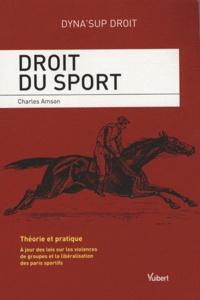 Charles Amson - Droit du sport.