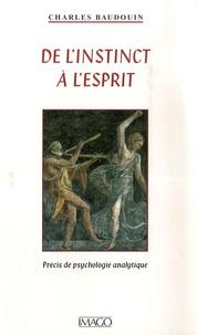 Feriasdhiver.fr De l'instinct à l'esprit - Précis de psychologie analytique Image
