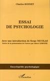 Charles Bonnet - Essai de psychologie - (1755).