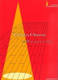 Charles Charras - Mon mot à dire.