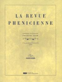 Charles Corm - La Revue phénicienne - Collection complète 1919.