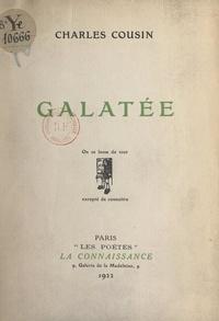 Charles Cousin - Galatée.