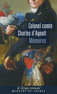 Charles d' Agoult - Mémoires.