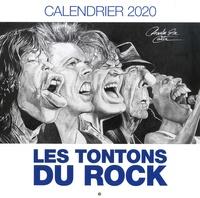 Charles Da Costa - Calendrier Les tontons du rock.