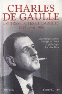Charles de Gaulle - Lettres, notes et carnets - Tome 2, 1942 - mai 1958.