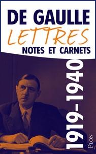 Lettres, notes et carnets - Tome 2, 1919-juin 1940.pdf