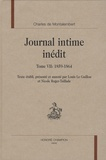 Charles de Montalembert - Journal intime inédit - Tome 7, 1859-1864.