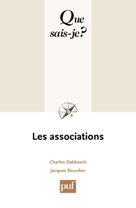 Charles Debbasch et Jacques Bourdon - Les associations.