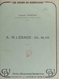 Charles Dédéyan - A.-R. Lesage : Gil Blas (2).