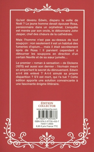 Le mystère d'Edwin Drood  Edition collector