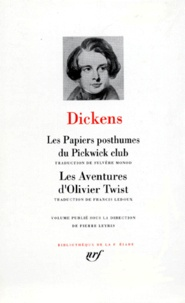 Les papiers posthumes du Pickwick Club ; Les aventures d'Oliver Twist - Charles Dickens | Showmesound.org