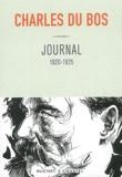 Charles Du Bos - Journal 1920-1925.