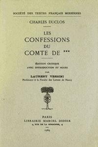 Corridashivernales.be Les confessions du Comte de C... Image