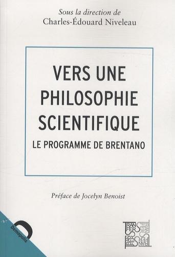 Vers une philosophie scientifique. Le programme de Brentano