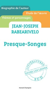 Charles-Edouard Saint-Guilhem - Jean-Joseph Rabearivelo, Presque-Songes.