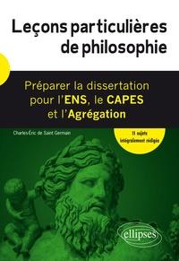 Deedr.fr Leçons particulières de philosophie - Préparer la dissertation pour l'ENS, le CAPES et l'Agrégation Image