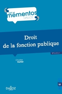 Droit de la fonction publique - Charles Fortier pdf epub