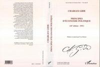 Charles Gide - Principes d'économie politique.