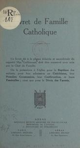 Charles Guillemant - Livret de famille catholique.