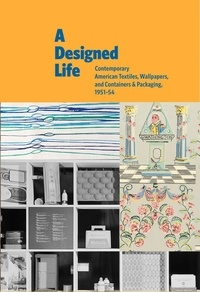Charles Gute - A designed life - Contemporary american textiles, wallpapers and containers &  packaging, 1951-54.