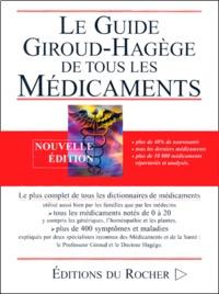 Le Guide Giroud-Hagège de tous les médicaments - Edition 2001.pdf