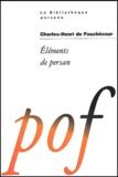 Charles Henri de Fouchécour - Eléments de persan.