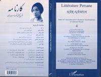 Charles Henri de Fouchécour - Littérature persane N° 4 : .
