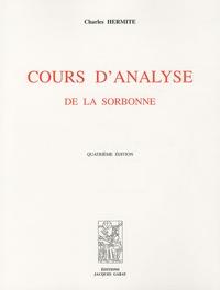 Charles Hermite - Cours d'analyse - De la Sorbonne.