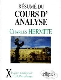 Charles Hermite - Résumé du cours d'analyse - 1870-1871.