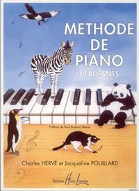 Charles Hervé et Jacqueline Pouillard - Méthode de piano débutants.