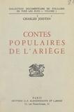 Charles Joisten - Contes populaires de l'Ariège.