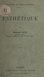 Charles Lalo - Esthétique.