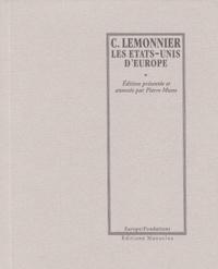 Charles Lemonier - Les Etats-Unis d'Europe.
