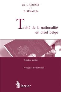 Charles-Louis Closset - Traité de la nationalité en droit belge.