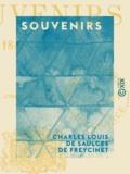 Charles Louis de Saulces Freycinet (de) - Souvenirs - 1848-1878.