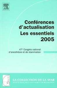 Charles-Marc Samama et Xavier Capdevila - Conférences d'actualisation les Essentiels - 47e Congrès national d'anesthésie et de réanimation.