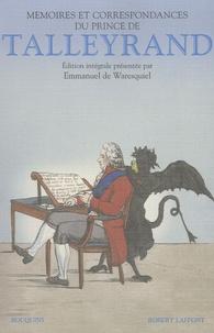 Controlasmaweek.it Mémoires du prince de Talleyrand - Suivis de 135 lettres inédites du prince de Talleyrand à la duchesse de Bauffremont (1808-1838) Image