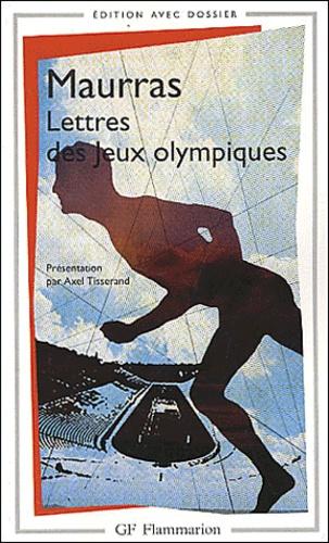 Charles Maurras - Lettre des Jeux Olympiques.