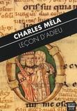 """Charles Méla - Leçon d'adieu - """"Avec les ailes du grand désir""""."""