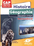 Charles Morelle - Histoire, géographie, éducation civique, socioculturel CAP Agricole Module MG1.