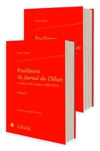 Charles Nodier - Feuilletons du journal des débats et autres écrits critiques (1800-1823).