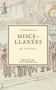 Charles Nodier et Delphine De Girardin - Miscellanées - 10 textes issus des collections de la BnF.