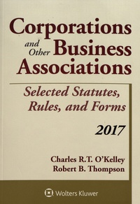 Deedr.fr Corporations and Other Business Associations - Selected Statutes, Rules, and Forms Image