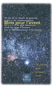 Charles Péguy et  Syméon - Mots pour l'avent - 24 paroles pour préparer Noël.